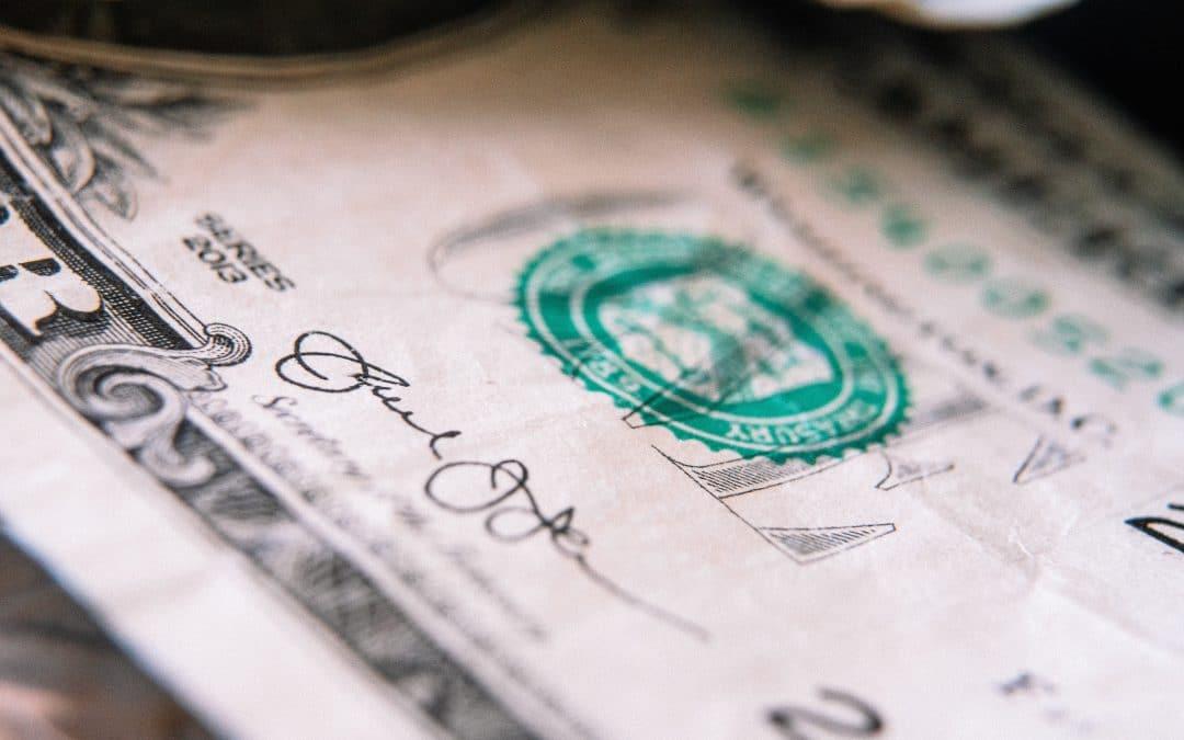 Bild von Geldschein zum Thema Anleihen